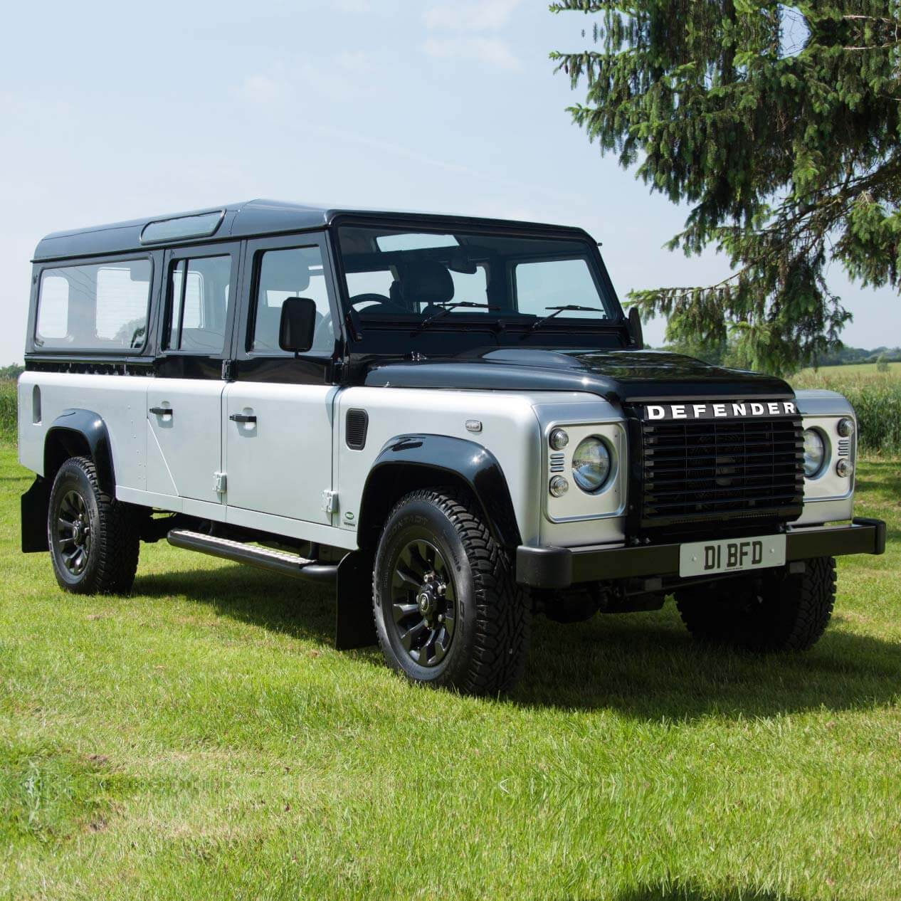 land rover funeral vehicle
