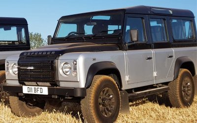 Land Rover Funeral Hearse for the Duke of Edinburgh